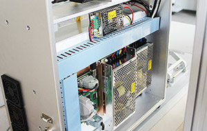 Power supply for galvo head and control card