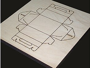 Knife-template-laser-cutting