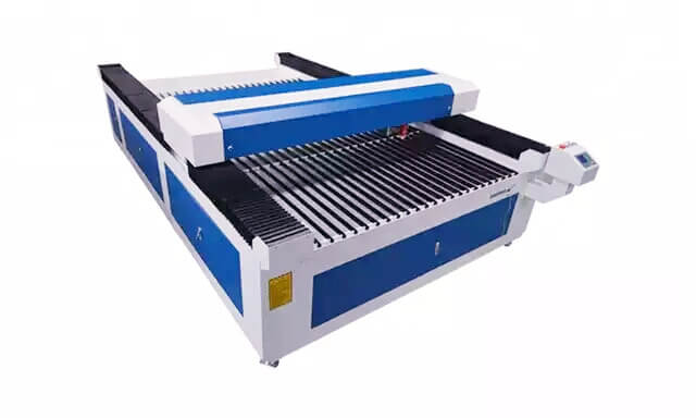 Mixed 300W Co2 laser machinefor metal and non meta