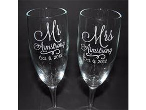 Wine-glass-laser-engraving