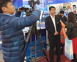 Exhibition-television-interview