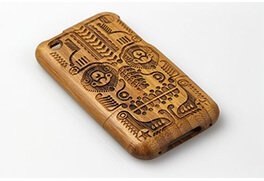 Laser-phone-casing-engraving