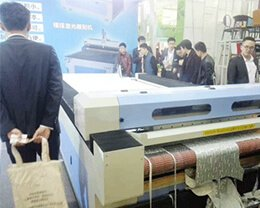 Laser-cutting-machine-at-the-exhibition-site