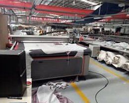 Automatic-fabric-cutting-machine-at-customer-site