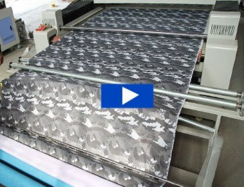3 steps to achieve automatic cutting of fabrics by laser fabric cutter