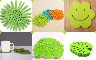 Only three minutes to know the use of felt crafts and cutting process