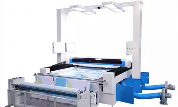 AMO1620laser cutting machine for sublimation printing garment