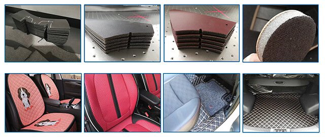 CNC fabric cutting machine is mainly used for automotive interior