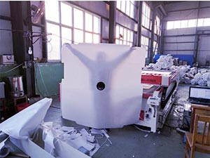 Filter cloth laser cutting machine for the filtration industry