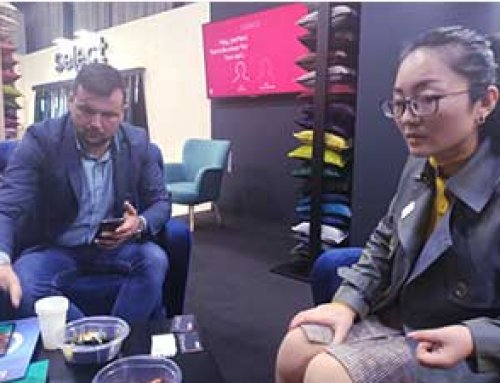 AMOR CNC visits European sofa furniture fair