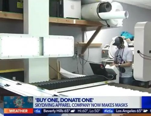AMOR mask laser cutting machine boarded the US News